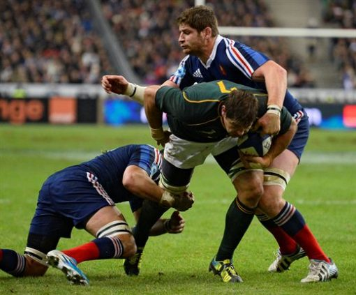Springboks vs France Sports Tour